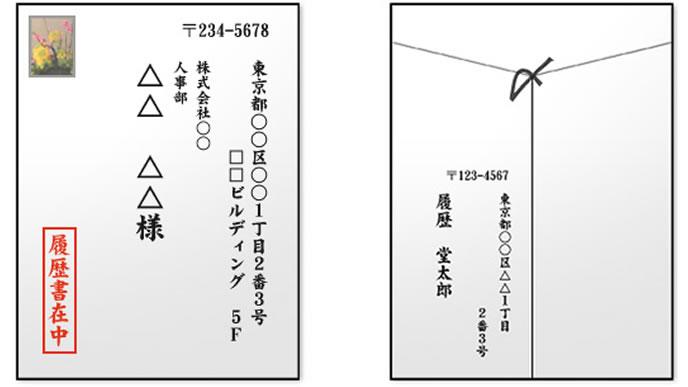 封筒の書き方 例