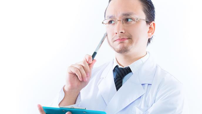 健康を計る医者