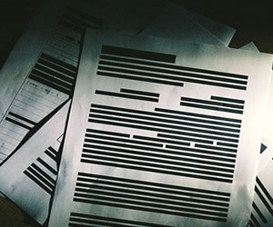 独自の文章の書類