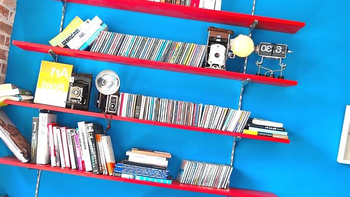 参考書の本棚