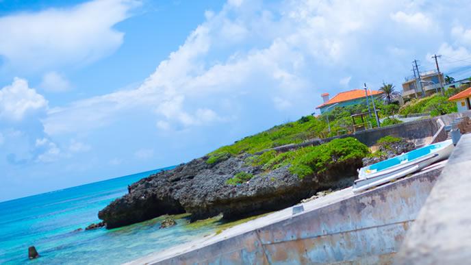 南の島の景色