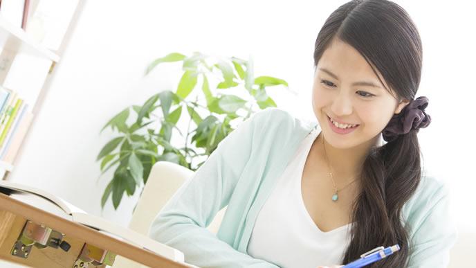 資格取得を目指す高学歴な女ニート