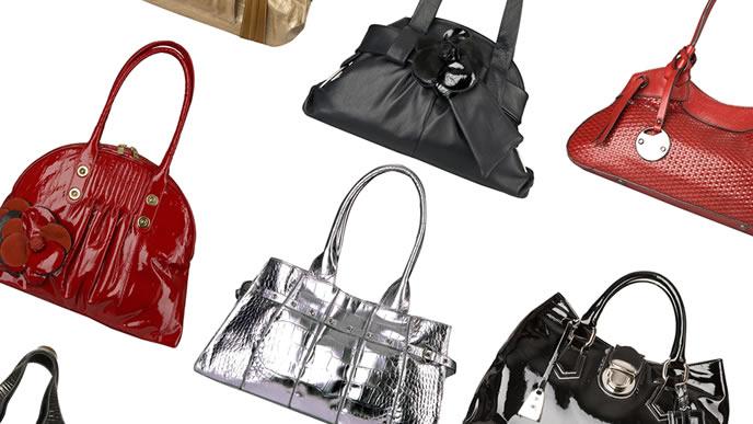 様々な種類のバッグ