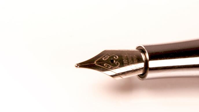 お礼状を書くための万年筆