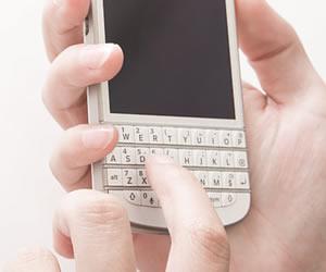 携帯電話でスケジュール管理
