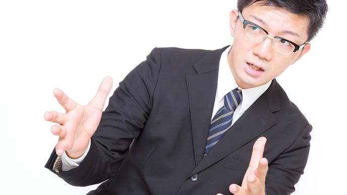 敬語を交えて話すやり手ビジネスマン