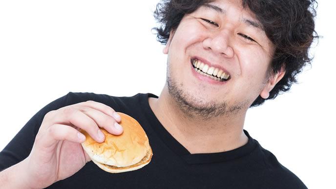 ハンバーガーが大好物のニート