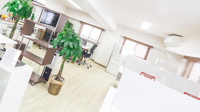 綺麗に整理されているオフィス