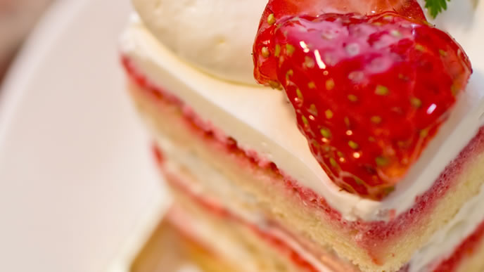美味しそうなショートケーキ