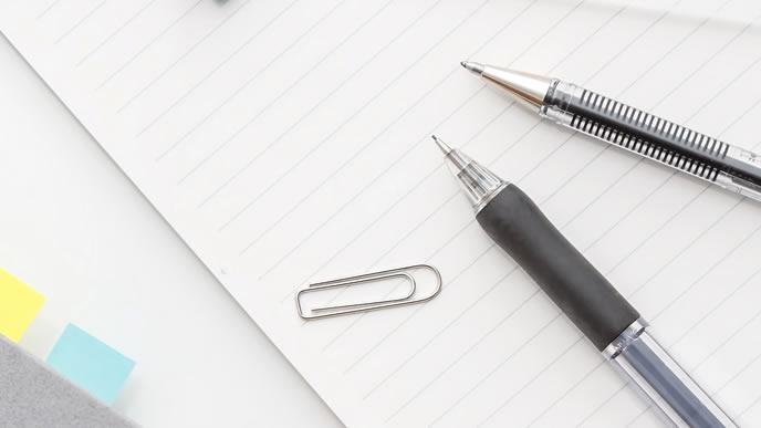 様々な種類があるボールペン