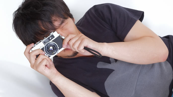 証拠を逃がさない敏腕カメラマン