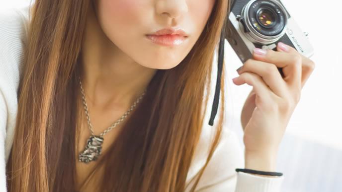 特技がカメラの就活生