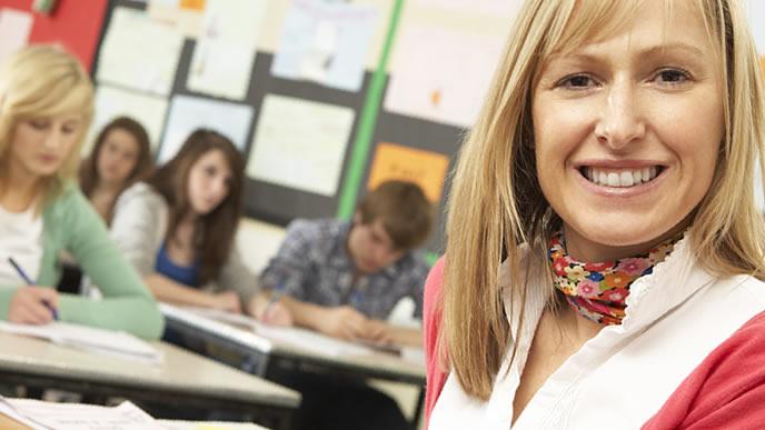 海外でも人気がある教師の仕事