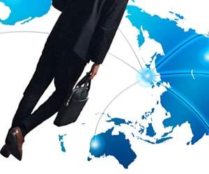 世界展開する企業と人