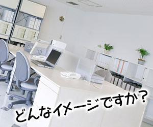 白基調のオフィス