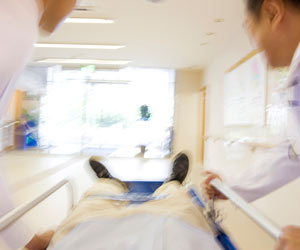 緊急搬送される患者