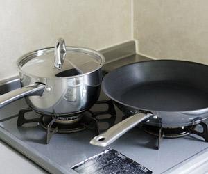 フライパンと鍋の2点セット