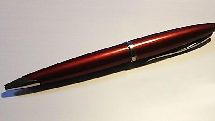 ビジネスで使っているWATERMAN(ウォーターマン)の赤いボールペン