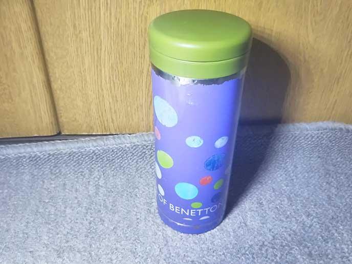 ベネトンの水筒
