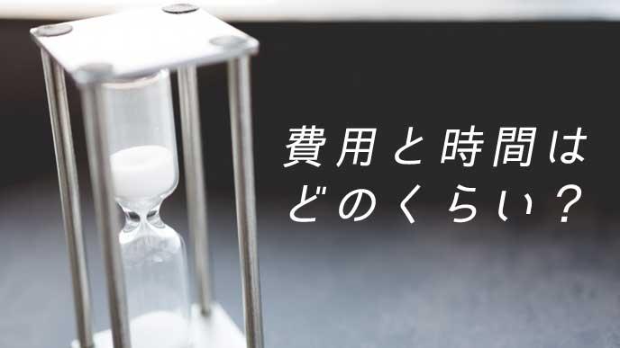 白い砂時計