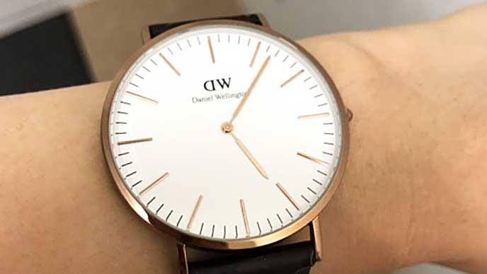 ダニエルウェリントン クラシックヨーク 40mmの腕時計