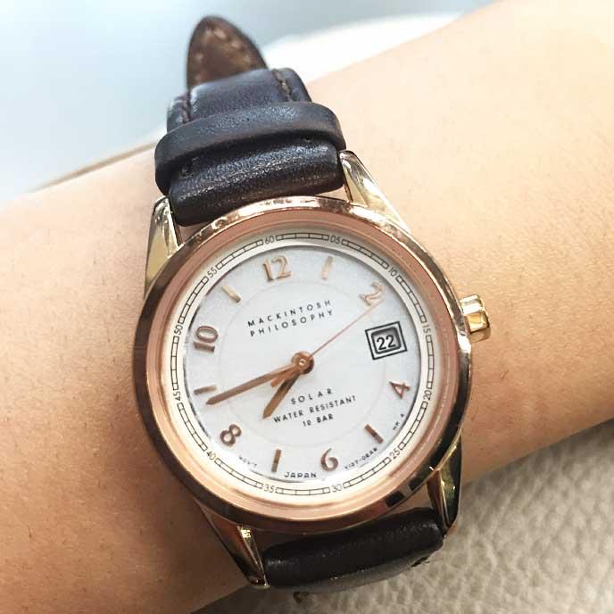 マッキントッシュフィロソフィー FDAD997の腕時計
