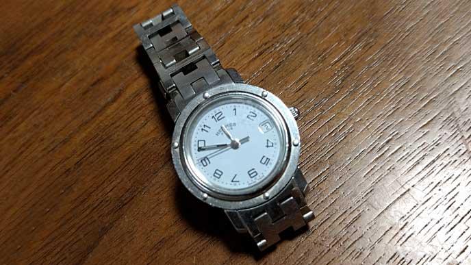 エルメスの腕時計