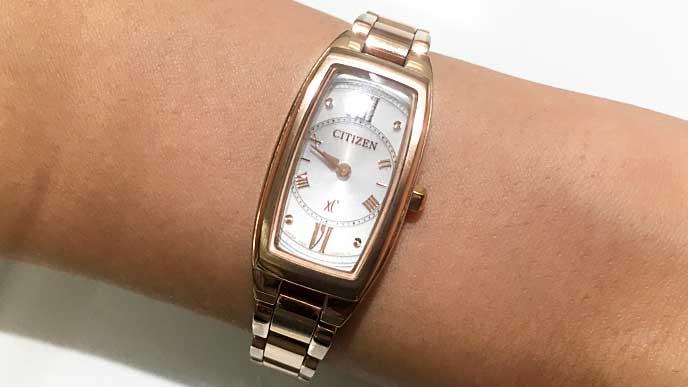 CITIZEN XC EG2872-52Aの腕時計