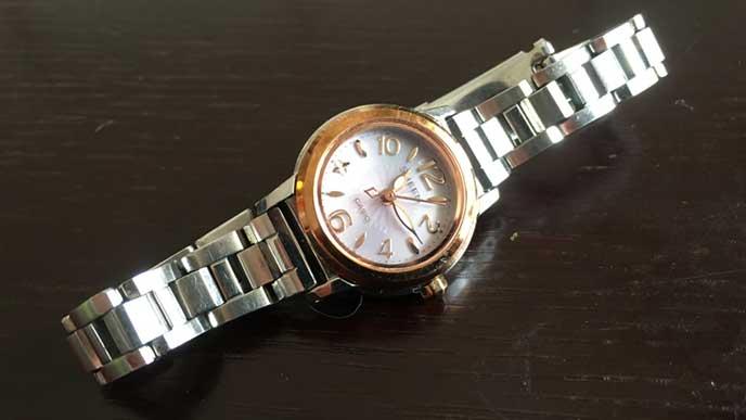 カシオ SHEEN ソーラー SHE-4502SBG-4AJF レディースの腕時計