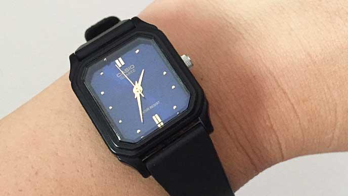 チープカシオ アナログウォッチ/LQ-142の腕時計
