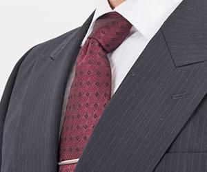 小紋柄のネクタイ