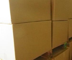 大きなダンボール箱