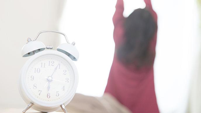 早起きをする人