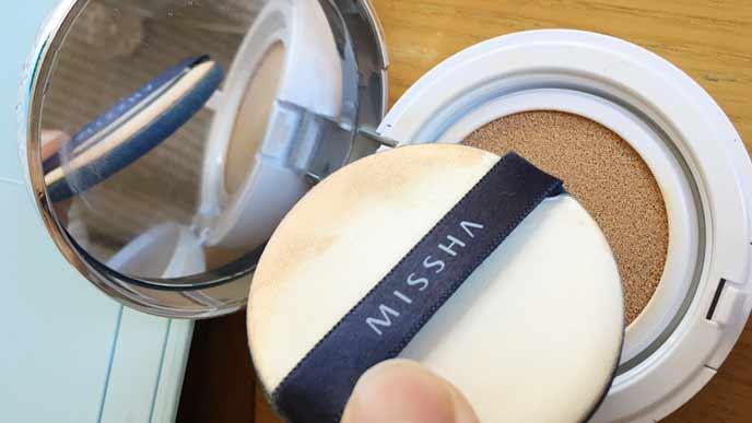 ミシャのクッションファンデーションのマットNo.23