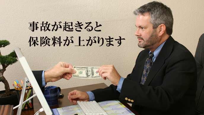 保険金を払う会社