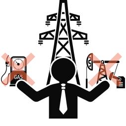 電力会社を選ぶ人のイメージ