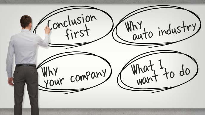 自動車業界の志望動機のポイント
