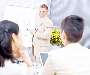 英語での会議