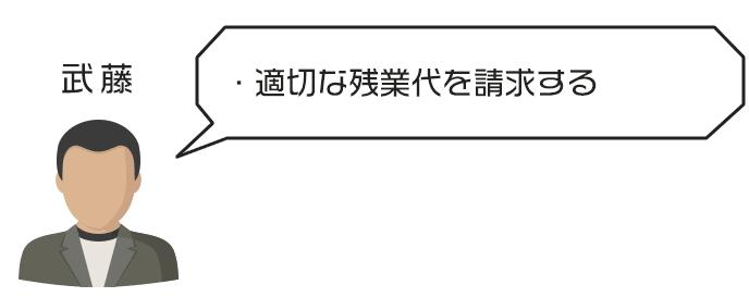適切な残業代を請求する武藤さんのアバター