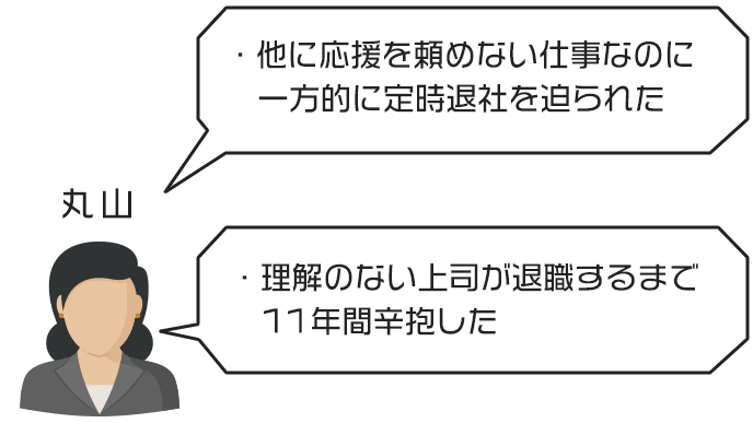 丸山さんのジタハラ事例と対処法