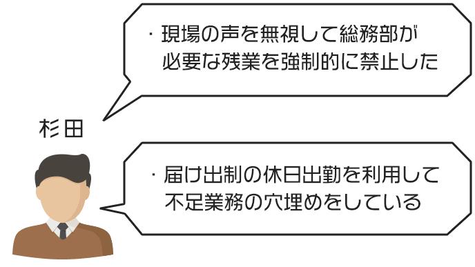 杉田さんのジタハラ事例と対処法