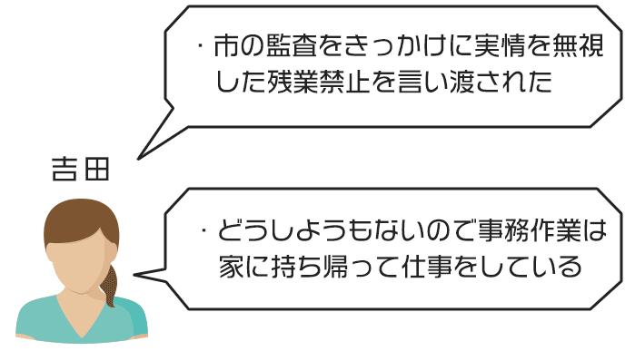 吉田さんのジタハラ事例と対処法