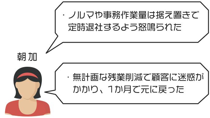 朝加さんのジタハラ事例と対処法