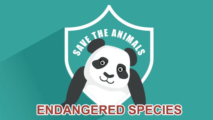絶目危惧種のパンダ