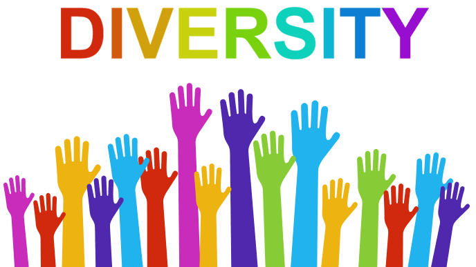 DIVERSITY多様性のイメージイラスト