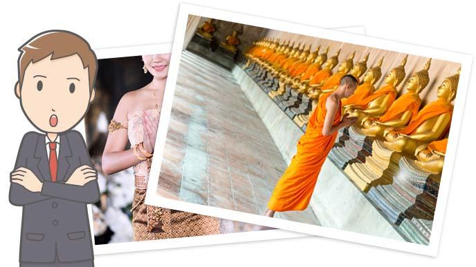 寺院で祈りをささげる仏僧