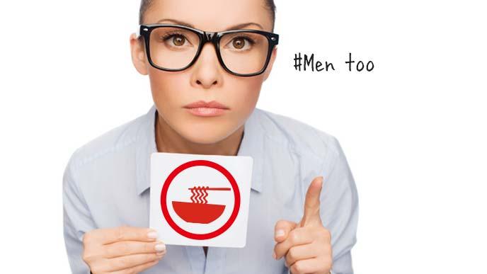ヌーハラもハラスメントです(Men too)と語る女性