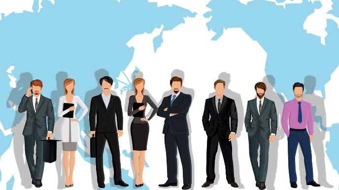 インターナショナルが企業のイメージ